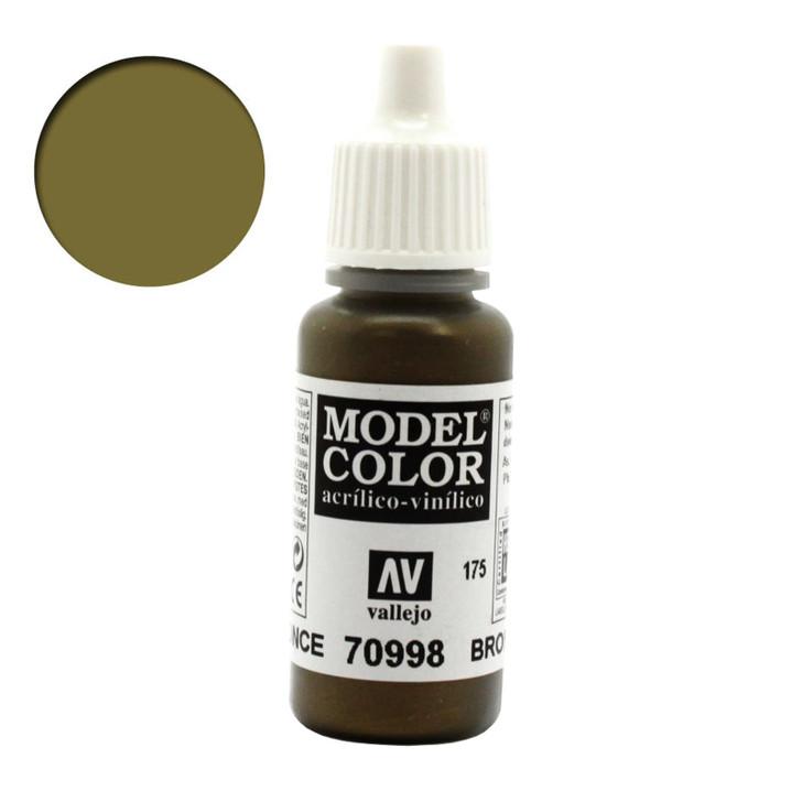 Bronze Metallic Vallejo Model Color Paint 70998