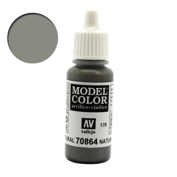Natural Steel Metallic Vallejo Model Color Paint 70864