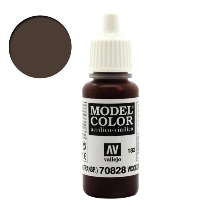 Wood Grain Transparent Wash Vallejo Model Color Acrylic Paint 70828