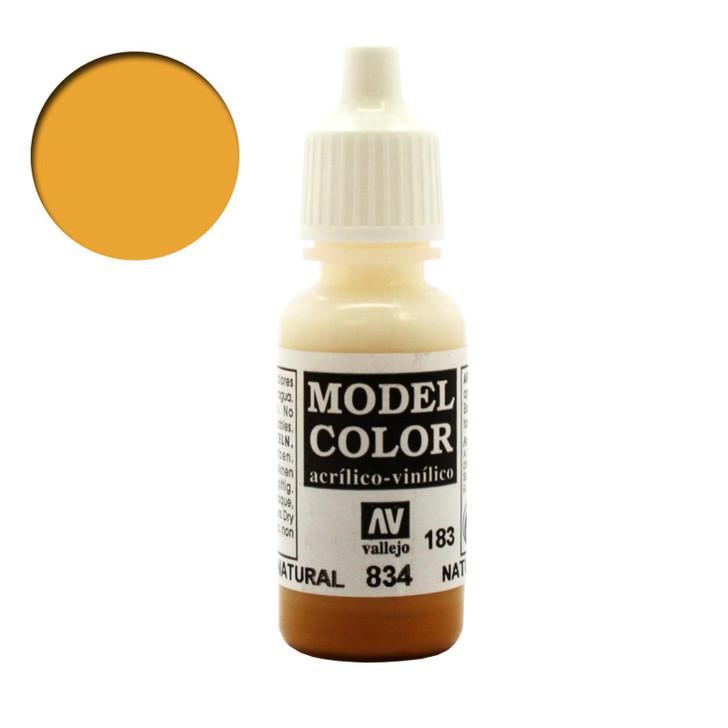 Natural Wood Transparent Wash Vallejo Model Color Acrylic Paint 70834