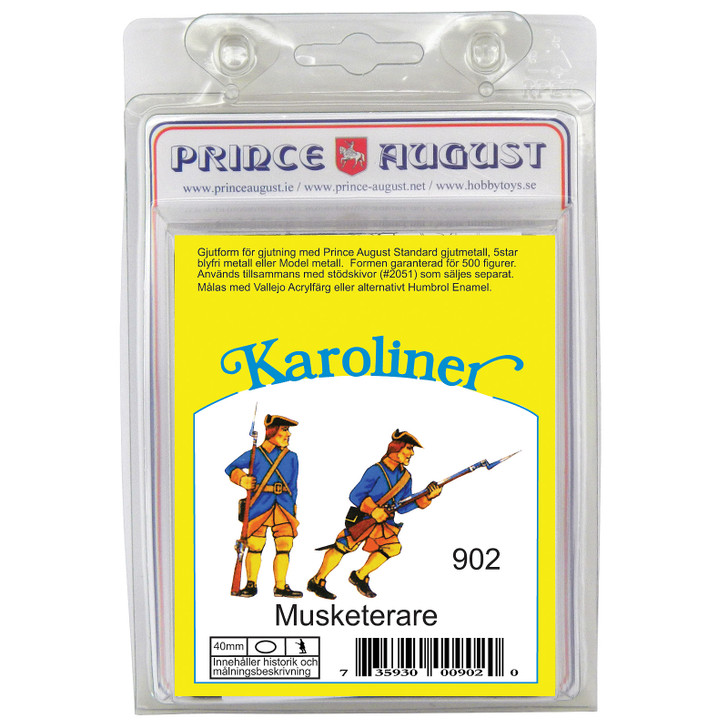 PAS902 Karoliner Musketeers - standing and advancing lable.