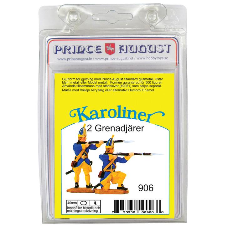 PAS906 Karoliner Grenadiers label