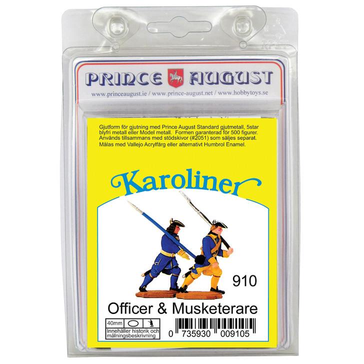 PAS910 Karoliner Officer and Musketeer label