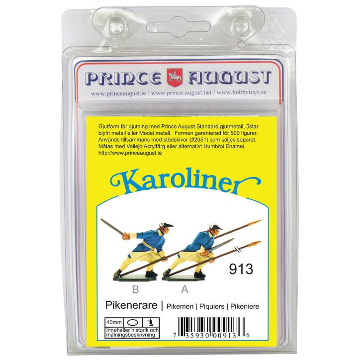 PAS913 Karoliner Pikemen no.2 label