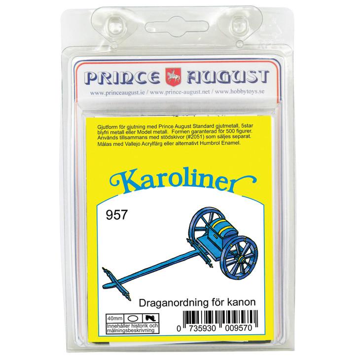 Karoliner Artillery Carriage limber blister