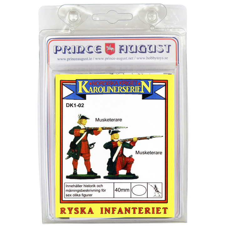 PADK102 - Great Northern War Infantry Kneeling and Standing mould