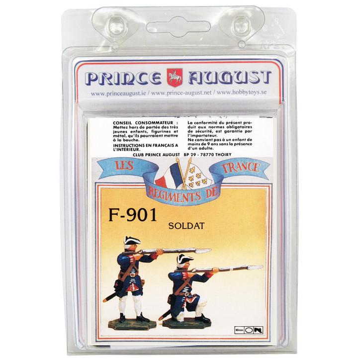 PAF901 French Regiments Infantry label