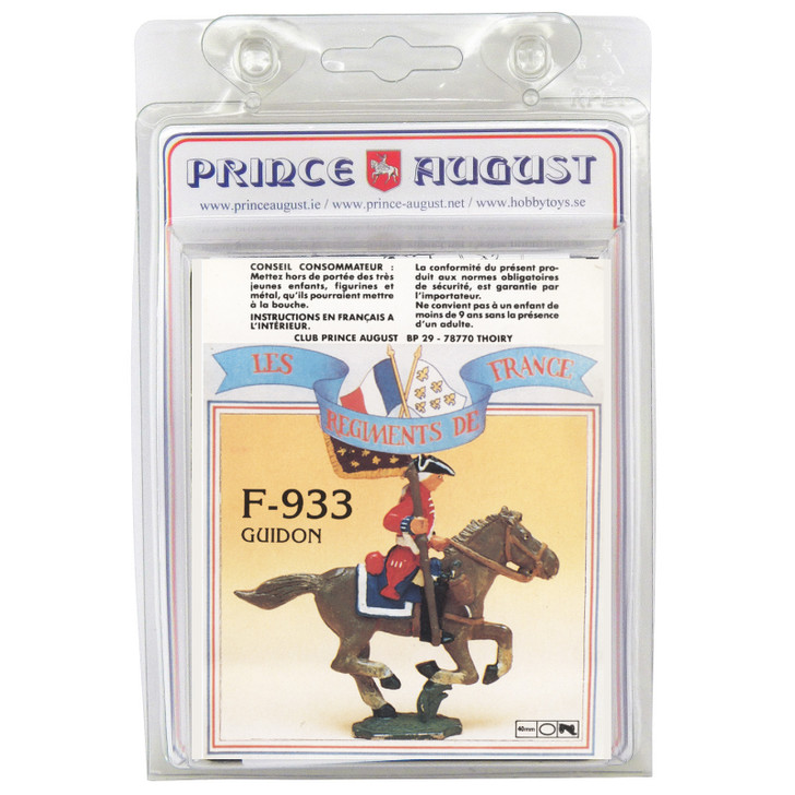 PAF933 French Regiments 1750 Cavalry label