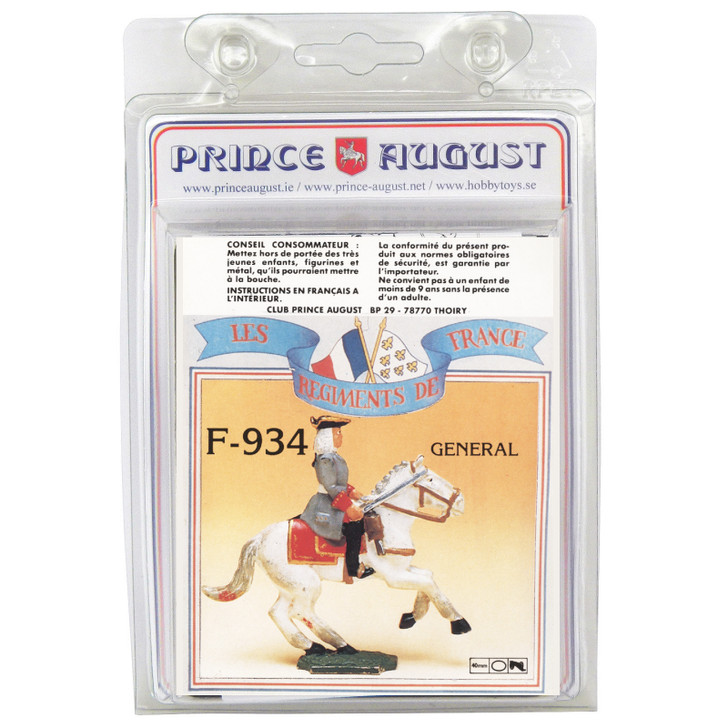 PAF934 French Regiments 1750 cavalry label