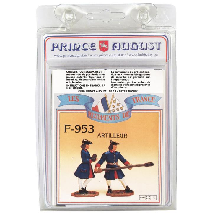 PAF953 French Regiments 1750 label