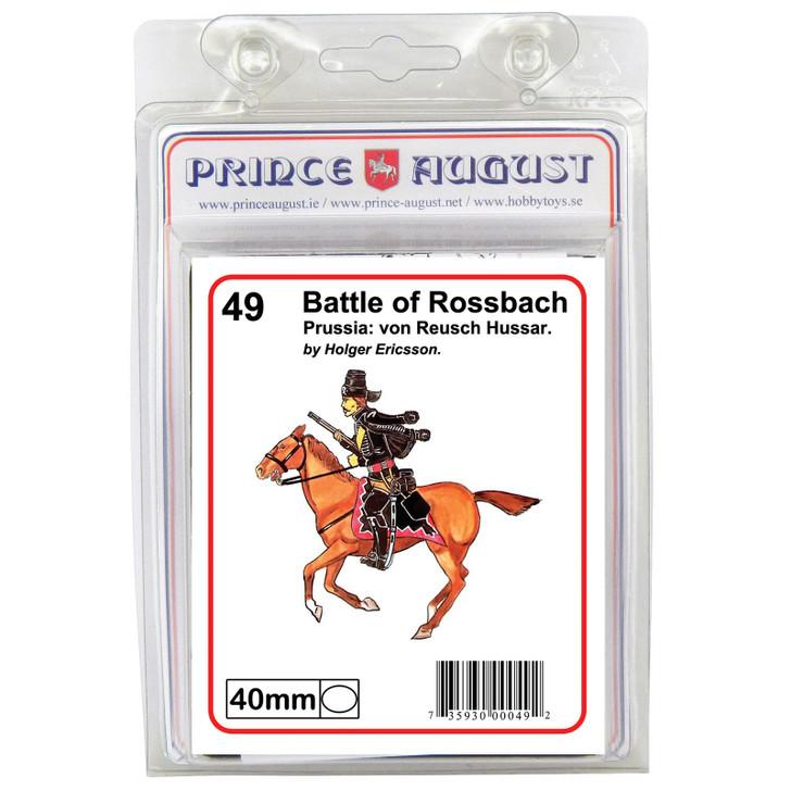 PA49 Prussia: von Reusch Hussar label.