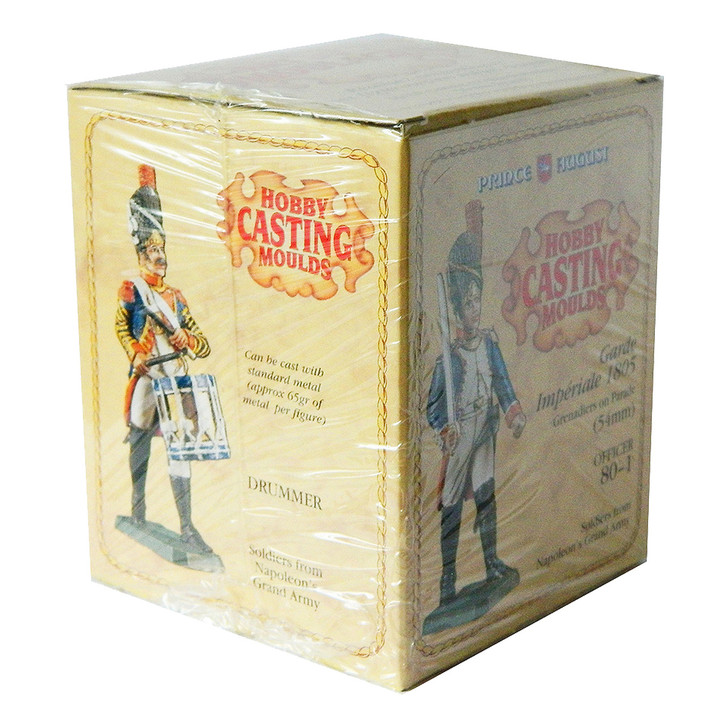 PA80-1 54mm Napoleonic mould set