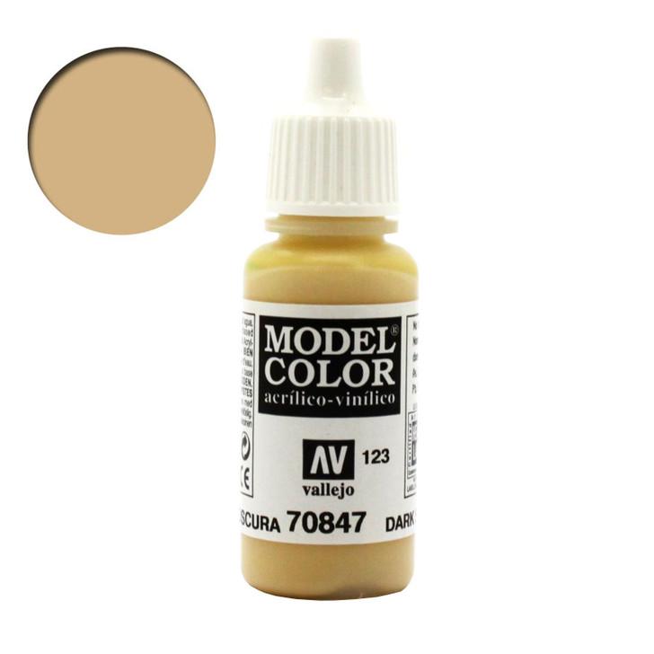 Vallejo Model Color Dark Sand Acrylic Paint 70847