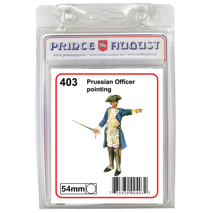 Prussian Officer pointing
