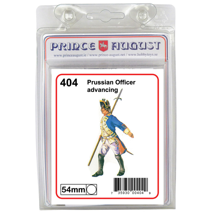 Prussian Officer advancing