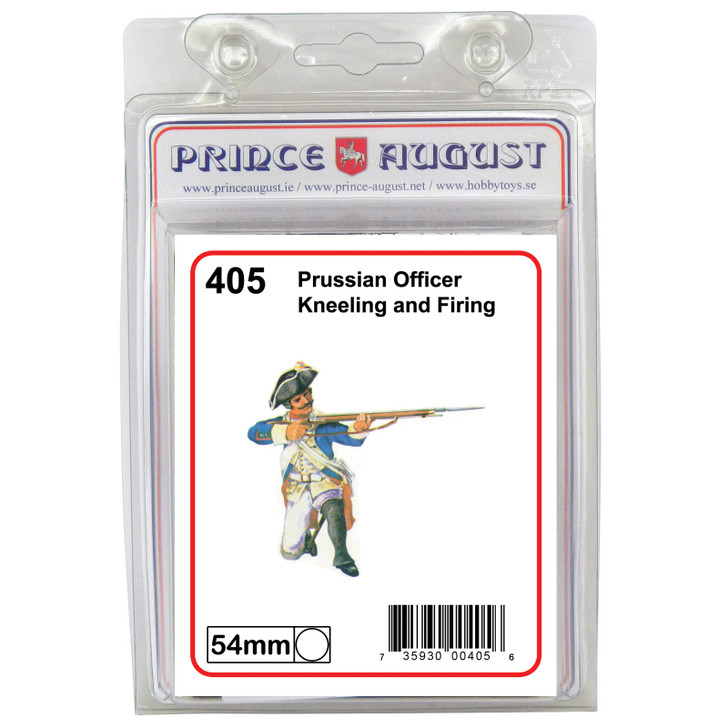 Prussian Musketeer Kneeling and Firing blister