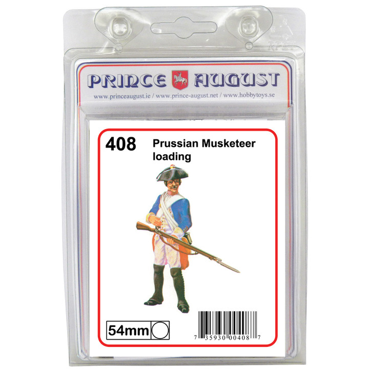 Prussian Musketeer loading blister