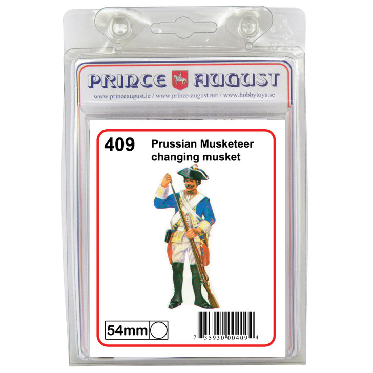 Musketeer charging musket blister