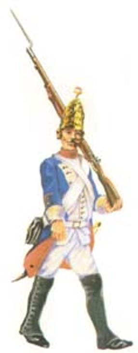 Prussian Grenadier marching