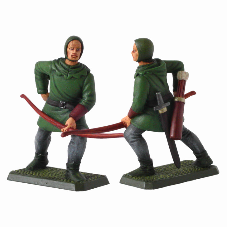 Medieval English Archer painted