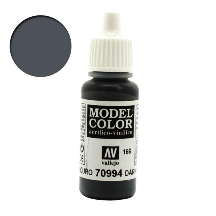 Vallejo Model Color Dark Grey Acrylic Paint 70994