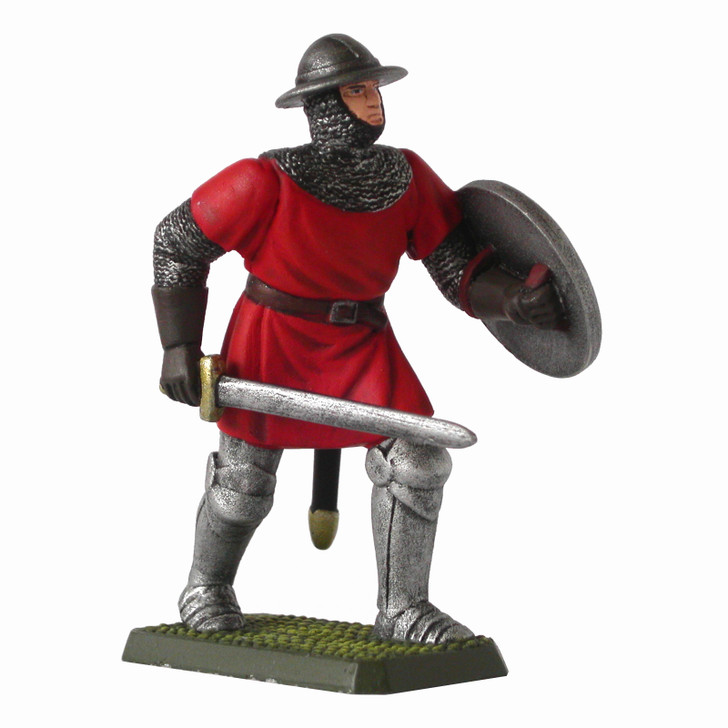 Medieval English Sergeant painted