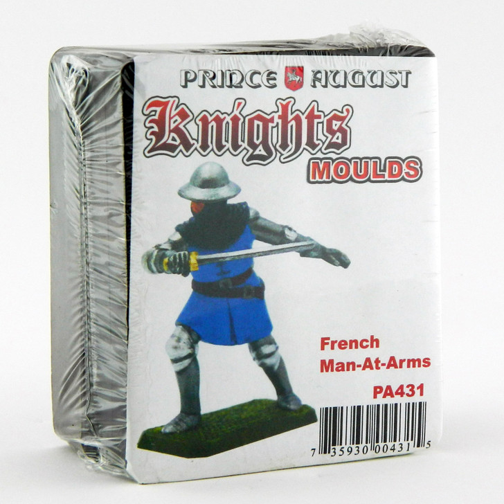 Medieval French Men-At-Arms moulds