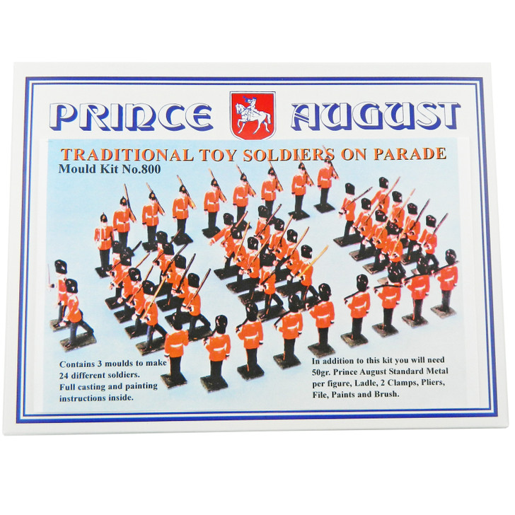 PA800 Toy Soldiers on Parade Label