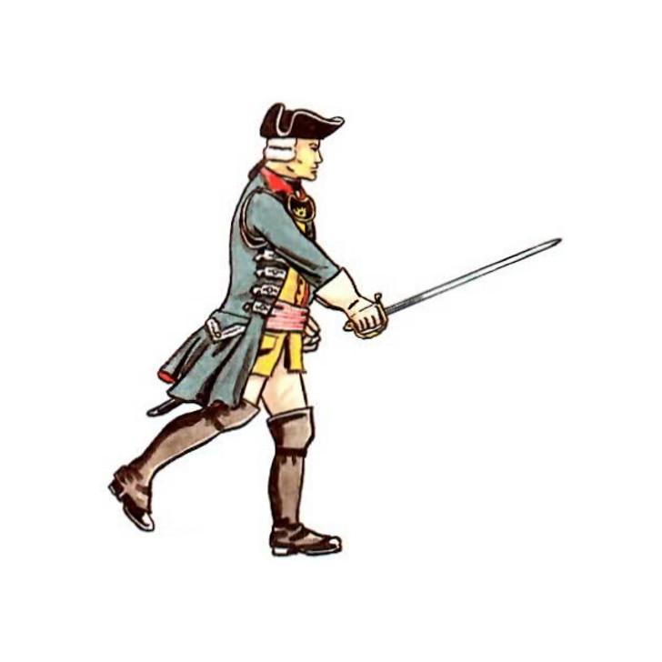 Hessen: Officer Garde Regiment illustration