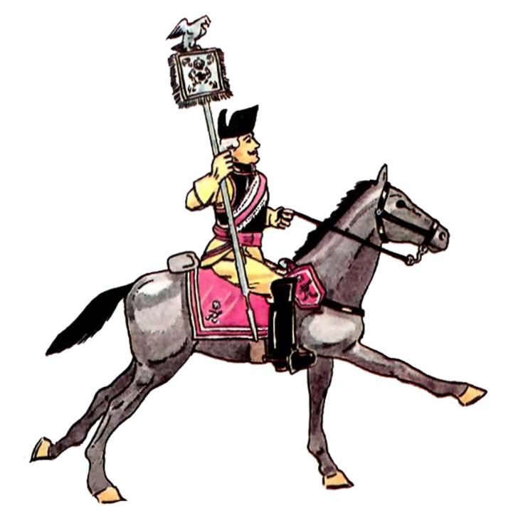 Prussia: Garde du Corps illustration
