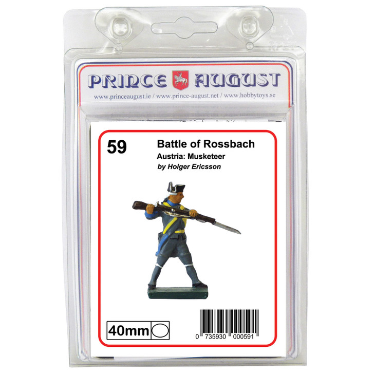 PA59 Austria: Musketeer lable