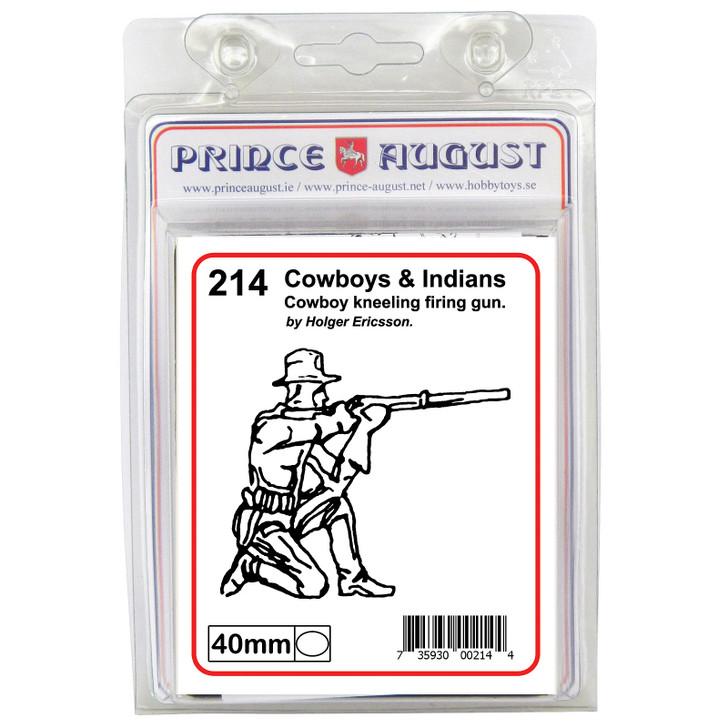 PA214 Cowboy kneeling firing gun
