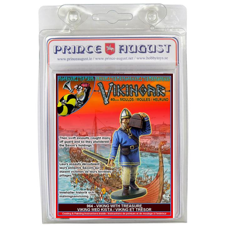 PA964 Vikings carrying treasure blister