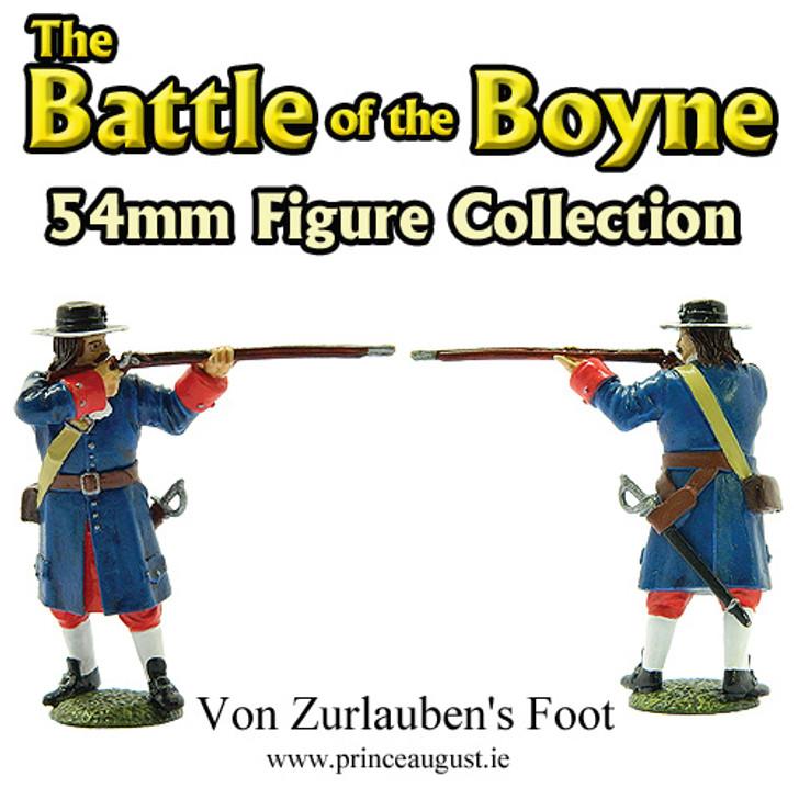 The Battle of the Boyne Von Zurlauben's Foot