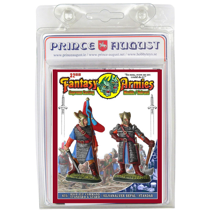 PA625 High Elf Command - Standard and Guard mould.