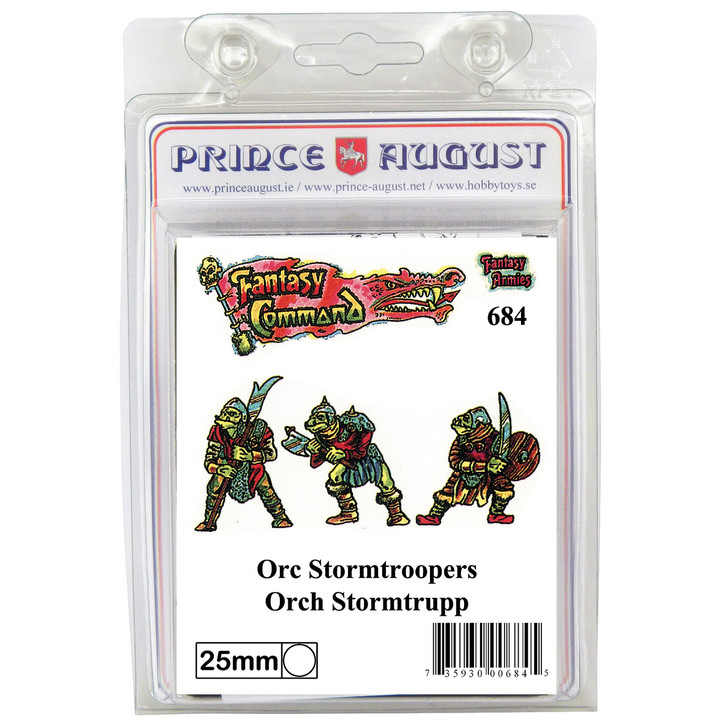 PA684 Orc Stormtroopers mould