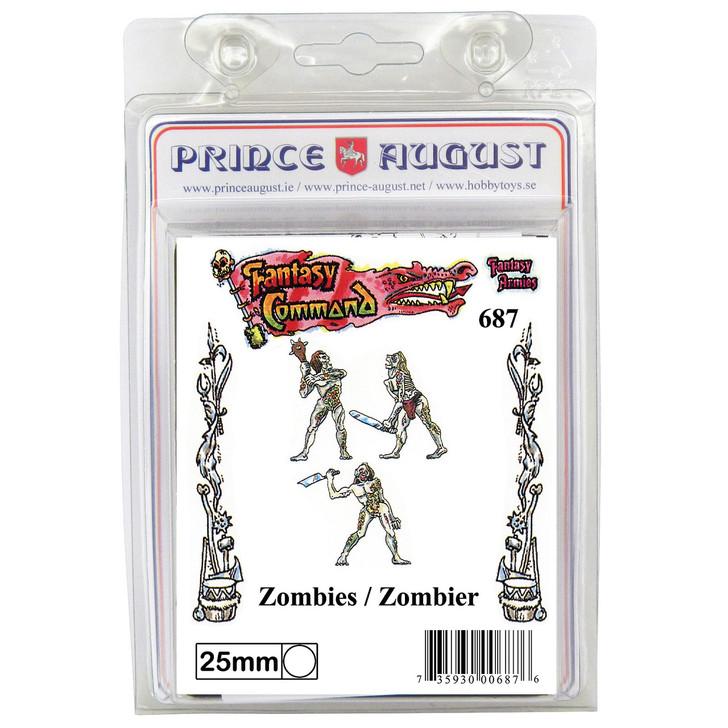 PA687 3x Zombies Mould