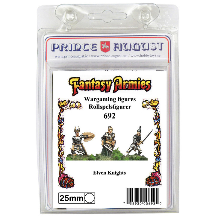 PA692 3x Elven Knights mould