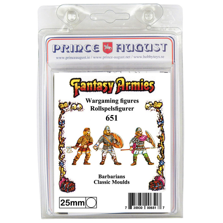 PA651 Fantasy Armies - 3 Barbarians