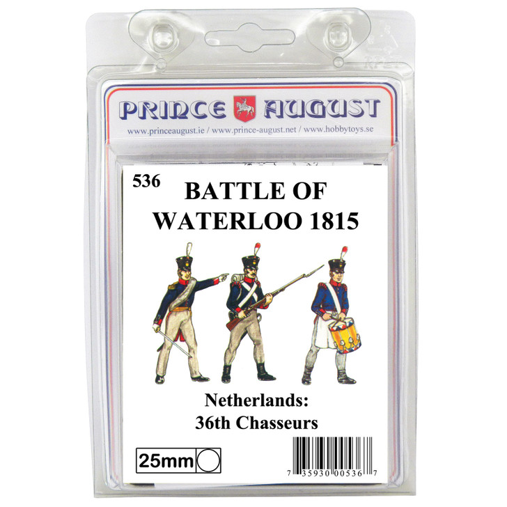 PA536 Netherlands: Foot Chasseurs blister