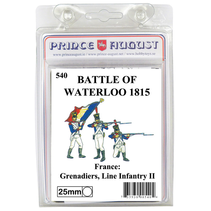PA540 French Line Infantry Grenadiers blister