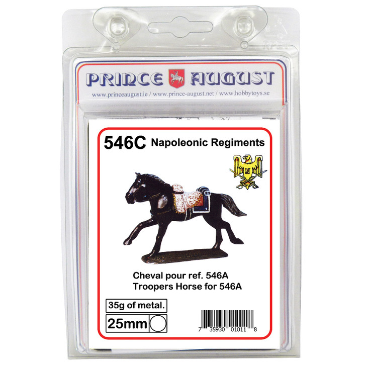 French Cuirrassiers Trooper Horse blister