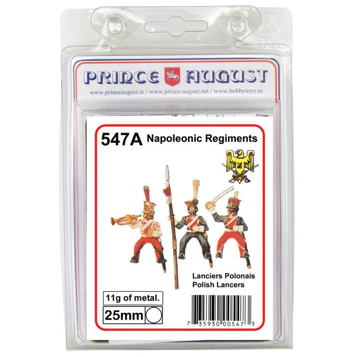 PA547A France: Polish Lancers label