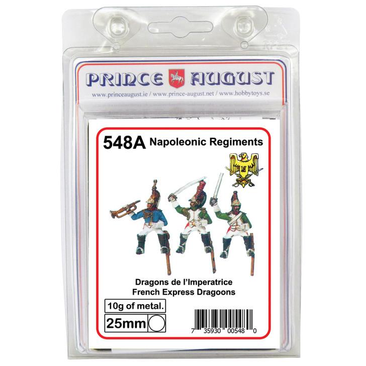 PA548A Empress Dragoons label