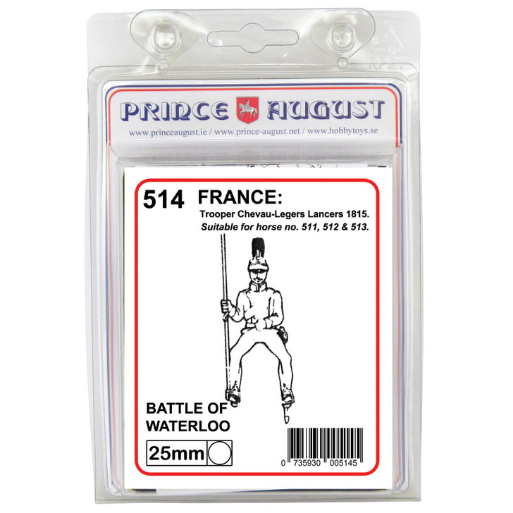 PA514 French Troopers, Chevau-Legers lancers label