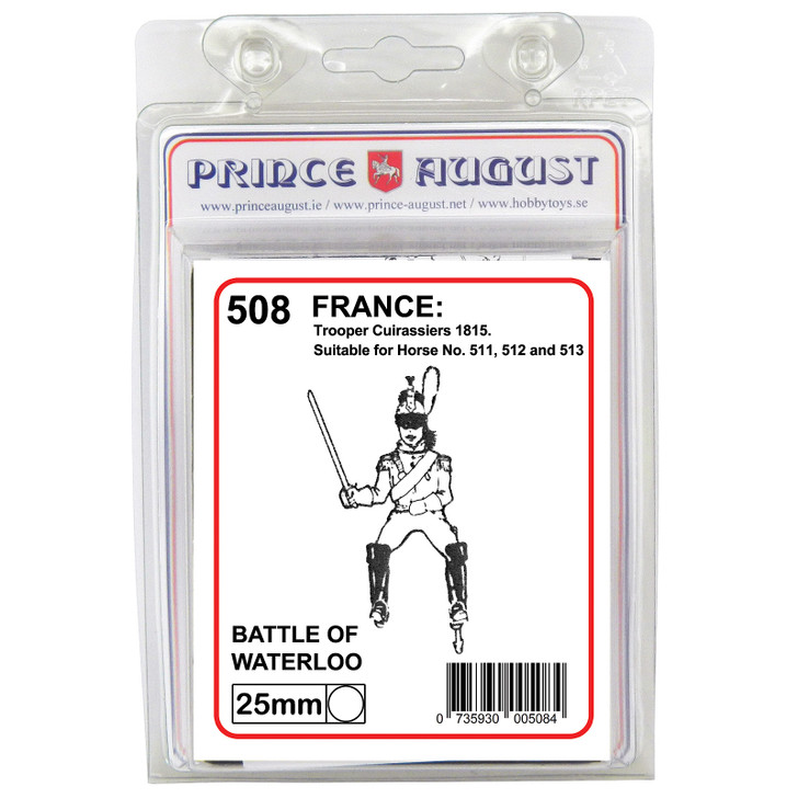 PA508 French Troopers, Cuirassiers label