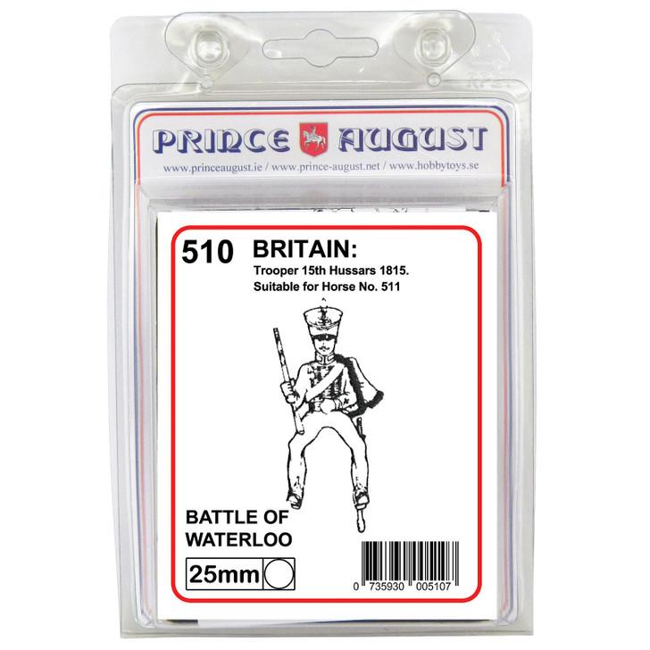 PA510 British Trooper 15th hussars label
