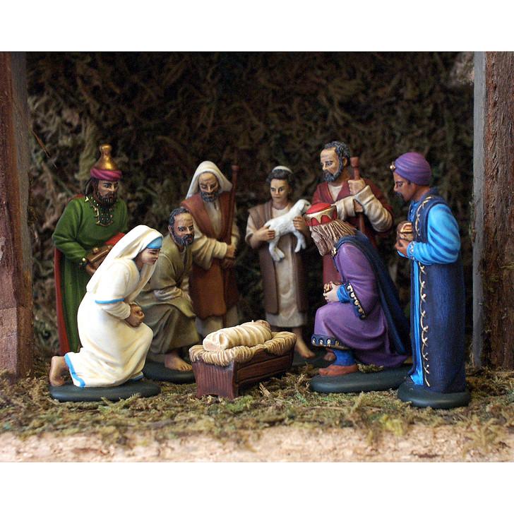 Nativity Pack of Nine Moulds