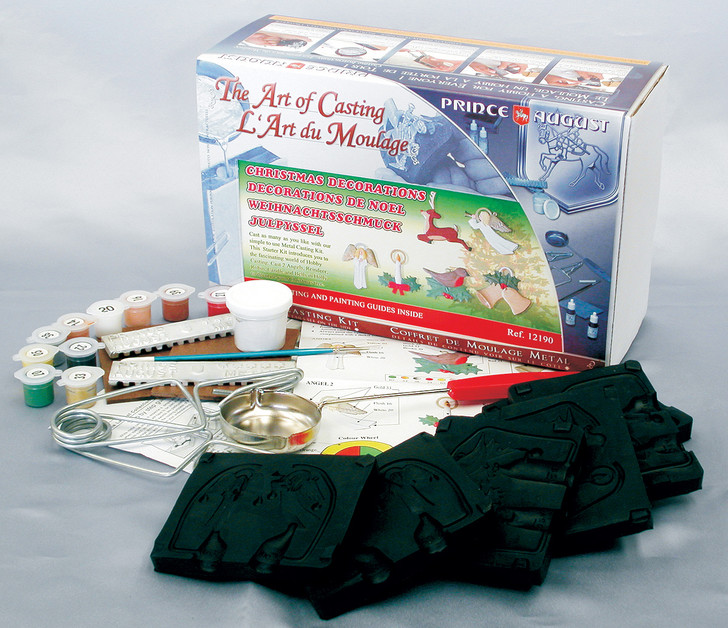 Christmas Deluxe Starter Kit contents