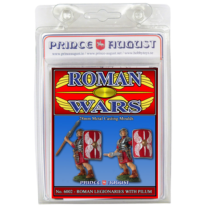Roman Wars - Legionaries with Pilum Moulds